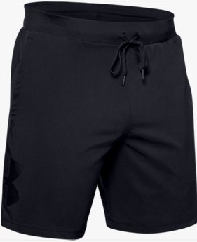 Short UA Qualifier Speedpocket Branded Linerless 18 cm pour homme
